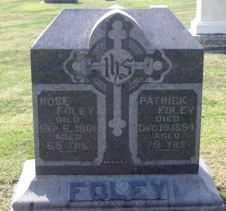 FOLEY, ROSE - Winneshiek County, Iowa | ROSE FOLEY