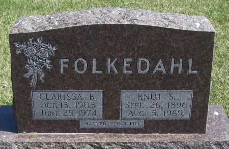 FOLKEDAHL, KNUT S - Winneshiek County, Iowa | KNUT S FOLKEDAHL