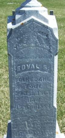 FOLKEDAHL, EDVAL S - Winneshiek County, Iowa   EDVAL S FOLKEDAHL