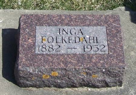 FOLKEDAHL, INGA - Winneshiek County, Iowa   INGA FOLKEDAHL