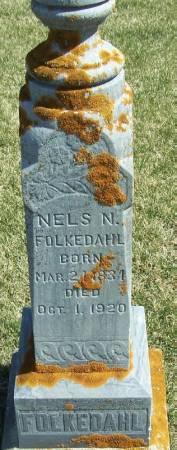 FOLKEDAHL, NELS N - Winneshiek County, Iowa   NELS N FOLKEDAHL