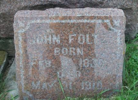 FOLTZ, JOHN - Winneshiek County, Iowa | JOHN FOLTZ