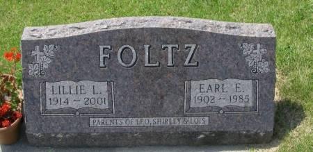 FOLTZ, LILLIE LUELLA - Winneshiek County, Iowa | LILLIE LUELLA FOLTZ