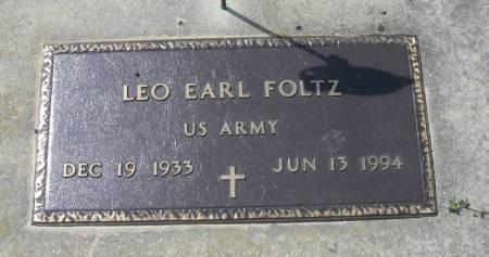 FOLTZ, LEO EARL - Winneshiek County, Iowa   LEO EARL FOLTZ