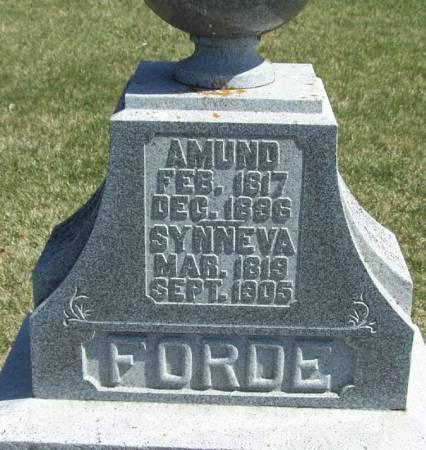 FORDE, AMUND - Winneshiek County, Iowa | AMUND FORDE