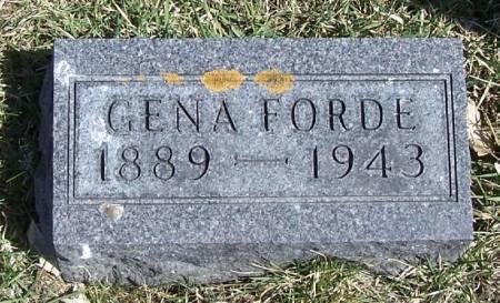 FORDE, GENA - Winneshiek County, Iowa | GENA FORDE