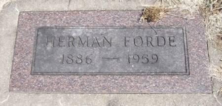 FORDE, HERMAN - Winneshiek County, Iowa | HERMAN FORDE