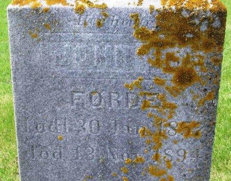FORDE, JOHN HALVORSON - Winneshiek County, Iowa | JOHN HALVORSON FORDE