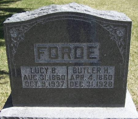 FORDE, LUCY B - Winneshiek County, Iowa | LUCY B FORDE