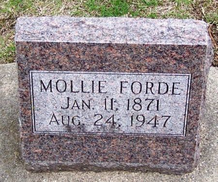 FORDE, MOLLIE - Winneshiek County, Iowa | MOLLIE FORDE