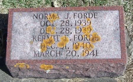 FORDE, KERMIT E - Winneshiek County, Iowa | KERMIT E FORDE