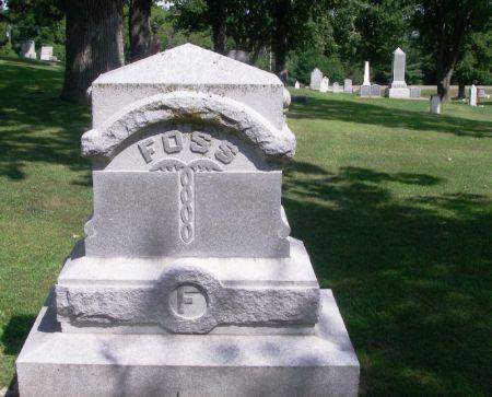 FOSS, MICHAEL FAMILY STONE - Winneshiek County, Iowa | MICHAEL FAMILY STONE FOSS