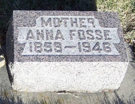 FOSSE, ANNA - Winneshiek County, Iowa | ANNA FOSSE