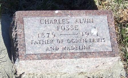 FOSSE, CHARLES ALVIN - Winneshiek County, Iowa | CHARLES ALVIN FOSSE