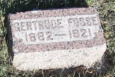 FOSSE, GERTRUDE - Winneshiek County, Iowa   GERTRUDE FOSSE