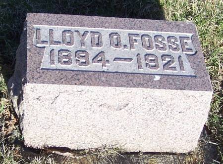 FOSSE, LLOYD O - Winneshiek County, Iowa | LLOYD O FOSSE