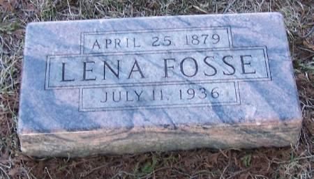 FOSSE, LENA - Winneshiek County, Iowa | LENA FOSSE