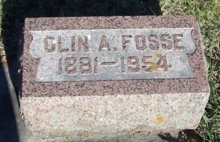 FOSSE, OLIN A - Winneshiek County, Iowa | OLIN A FOSSE