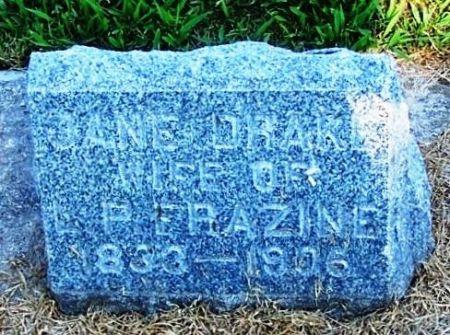 DRAKE FRAZINE, JANE - Winneshiek County, Iowa | JANE DRAKE FRAZINE