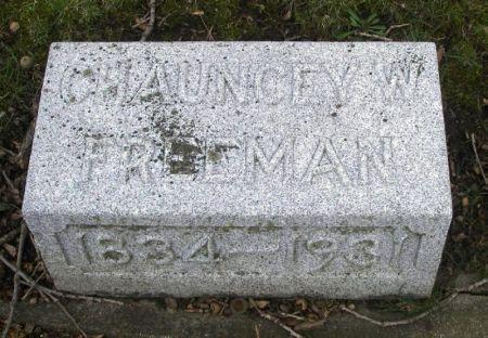 FREEMAN, CHAUNCEY W. - Winneshiek County, Iowa | CHAUNCEY W. FREEMAN