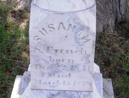 SUMNER FRENCH, SUSANAH - Winneshiek County, Iowa | SUSANAH SUMNER FRENCH