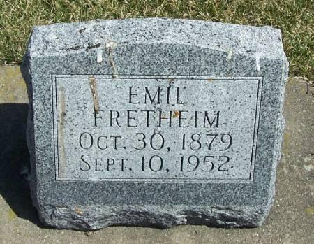 FRETHEIM, EMIL - Winneshiek County, Iowa   EMIL FRETHEIM