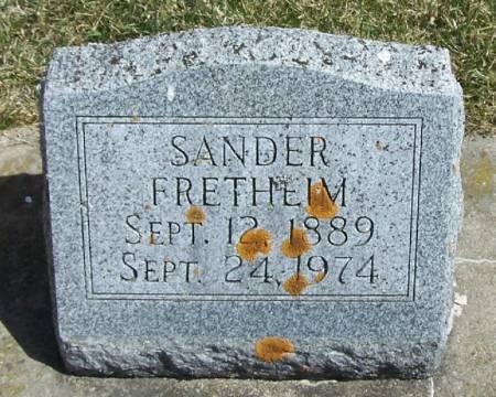 FRETHEIM, SANDER - Winneshiek County, Iowa | SANDER FRETHEIM