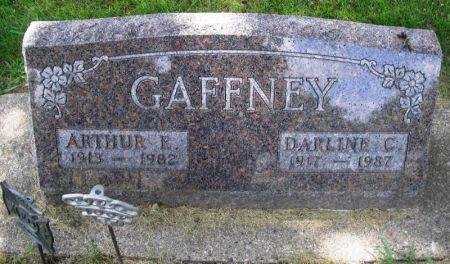 GAFFNEY, DARLINE C. - Winneshiek County, Iowa   DARLINE C. GAFFNEY