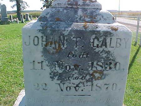 GALBY, JOHAN  T. - Winneshiek County, Iowa | JOHAN  T. GALBY