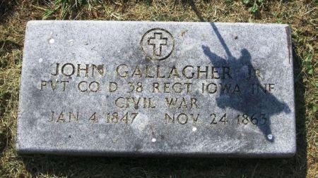 GALLAGHER, JOHN JR. - Winneshiek County, Iowa   JOHN JR. GALLAGHER