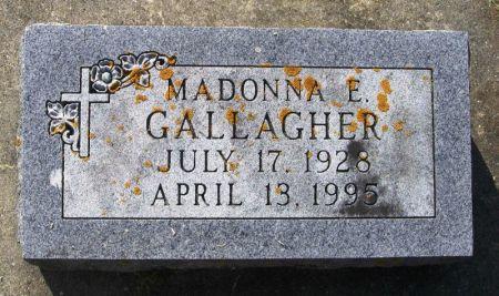 GALLAGHER, MADONNA E. - Winneshiek County, Iowa | MADONNA E. GALLAGHER