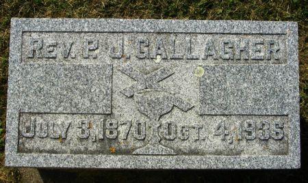 GALLAGHER, P. J. REV. - Winneshiek County, Iowa | P. J. REV. GALLAGHER