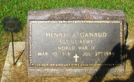 GANRUD, HARRY J. - Winneshiek County, Iowa | HARRY J. GANRUD