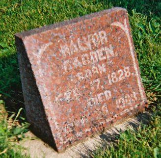 GARDEN, HALVOR HALDORSEN - Winneshiek County, Iowa   HALVOR HALDORSEN GARDEN