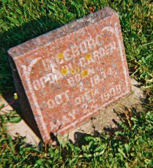 GARDEN, INGEBORG KNUDSDATTER - Winneshiek County, Iowa   INGEBORG KNUDSDATTER GARDEN