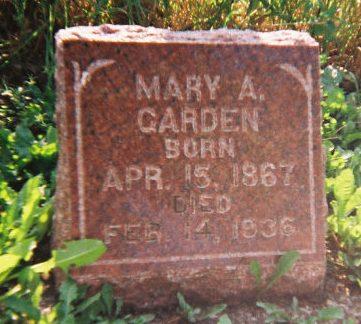 GARDEN, MARY ADELAIDE - Winneshiek County, Iowa | MARY ADELAIDE GARDEN