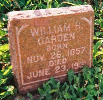 GARDEN, WILLIAM HENRY - Winneshiek County, Iowa | WILLIAM HENRY GARDEN