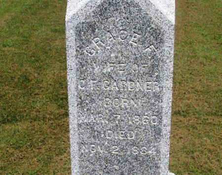 GARDNER, GRACE F. - Winneshiek County, Iowa | GRACE F. GARDNER