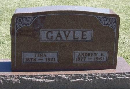 GAVLE, ANDREW E - Winneshiek County, Iowa | ANDREW E GAVLE