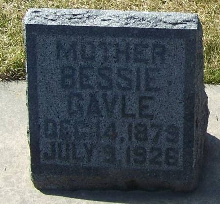 GAVLE, BESSIE - Winneshiek County, Iowa   BESSIE GAVLE