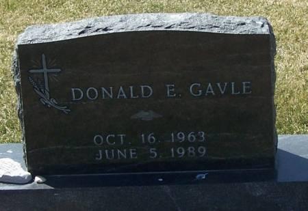 GAVLE, DONALD E - Winneshiek County, Iowa | DONALD E GAVLE