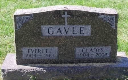 GAVLE, EVERETT - Winneshiek County, Iowa   EVERETT GAVLE