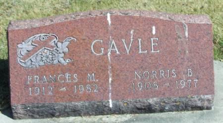GAVLE, FRANCES M - Winneshiek County, Iowa | FRANCES M GAVLE