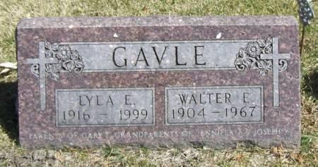 LUNDY GAVLE, LYLA E. - Winneshiek County, Iowa | LYLA E. LUNDY GAVLE