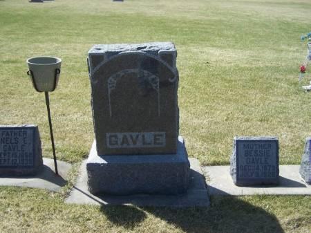GAVLE, NELS FAMILY STONE - Winneshiek County, Iowa | NELS FAMILY STONE GAVLE