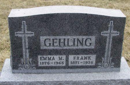 GEHLING, FRANK - Winneshiek County, Iowa | FRANK GEHLING