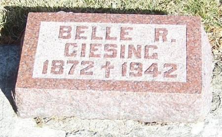 GIESING, BELLE R - Winneshiek County, Iowa   BELLE R GIESING