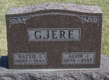 GJERE, HATTIE S - Winneshiek County, Iowa | HATTIE S GJERE