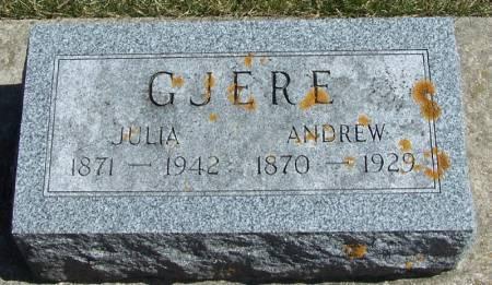 GJERE, ANDREW - Winneshiek County, Iowa   ANDREW GJERE