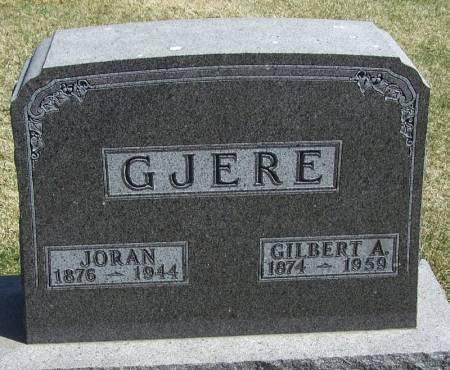 GJERE, GILBERT A - Winneshiek County, Iowa | GILBERT A GJERE